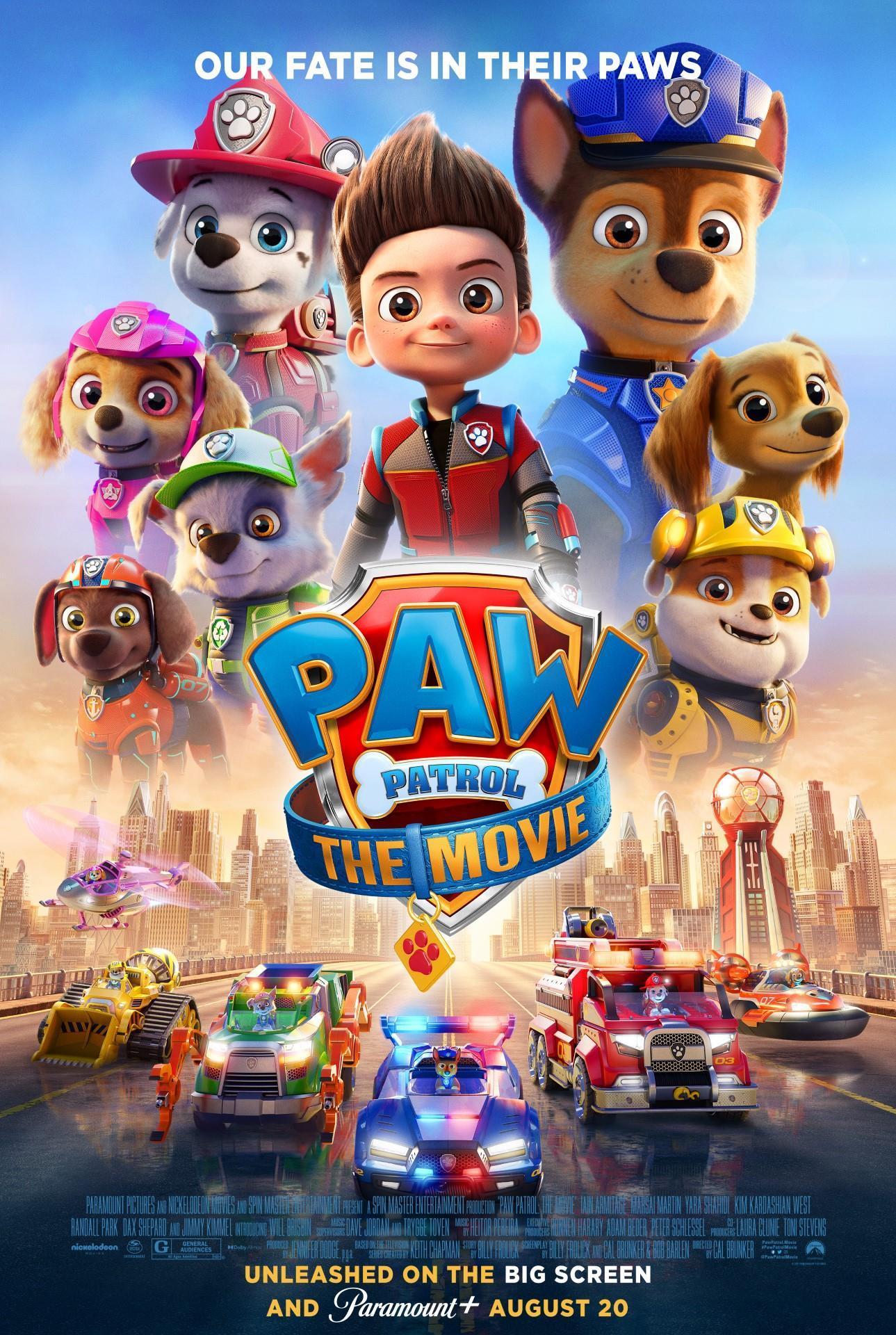 [Paw Patrol poster]