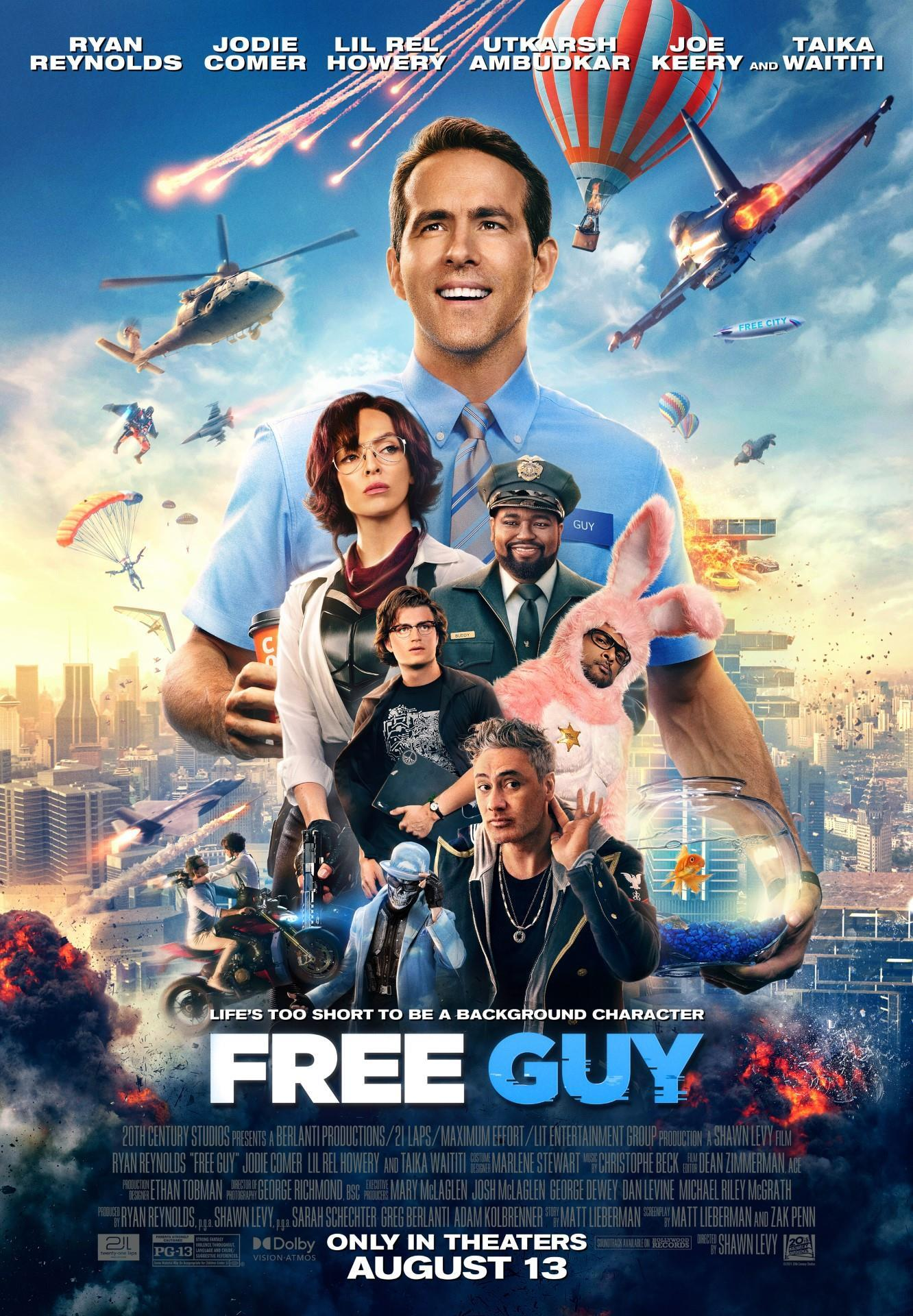 [Free Guy poster]